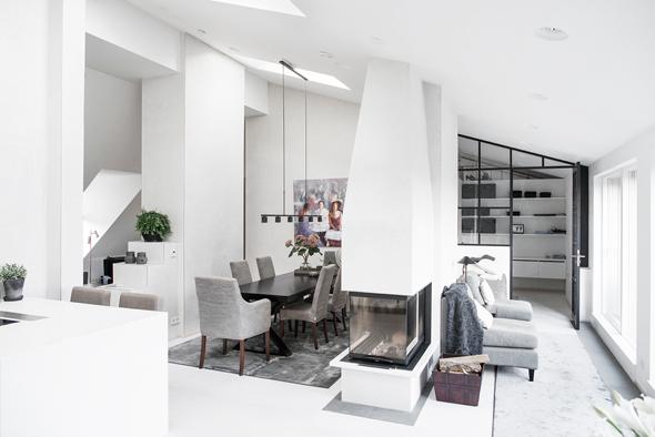 Wonen In Wit : Warm wonen in wit interieur en interieur