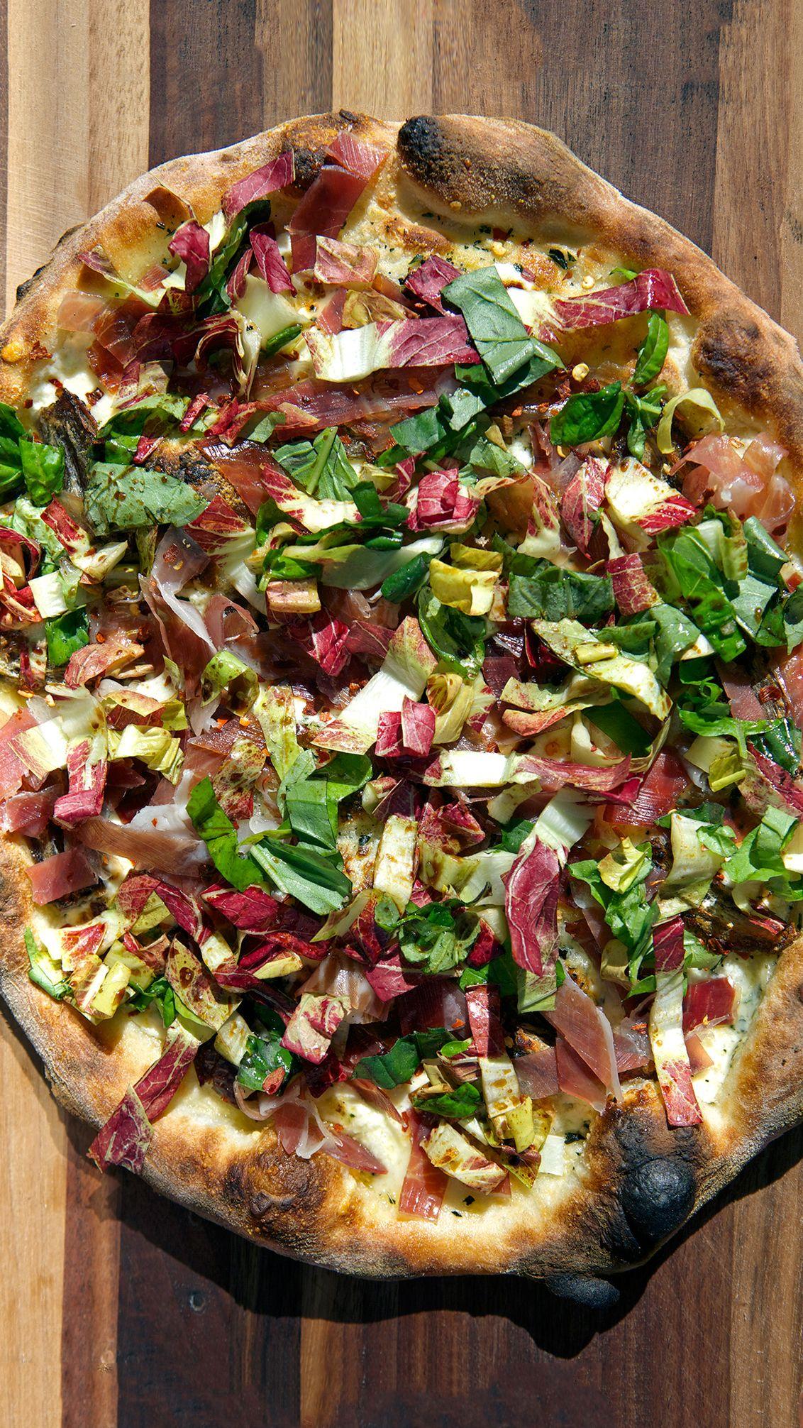 Abc Kitchen White Pizza With Prosciutto And Dates Chef Dan