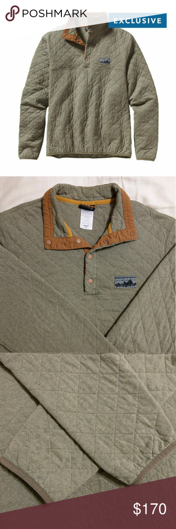 Patagonia 40th Anniversary Diamond Quilt Snap T Clothes
