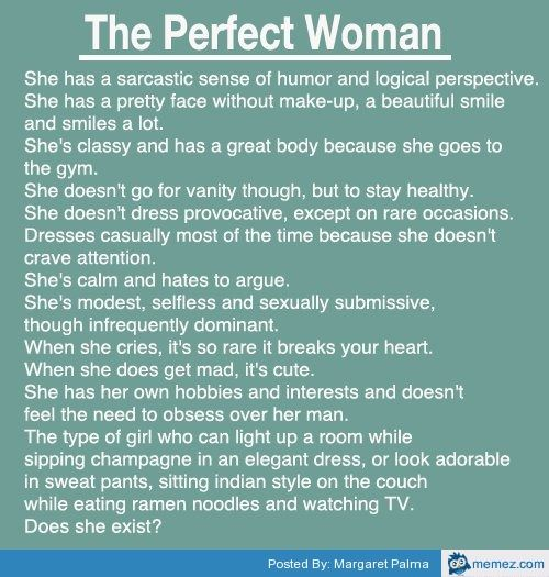 The Perfect Woman