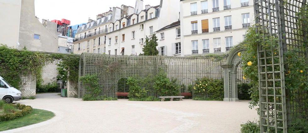 Les Jardins Secrets De Paris 1 Le Jardin Anne Frank