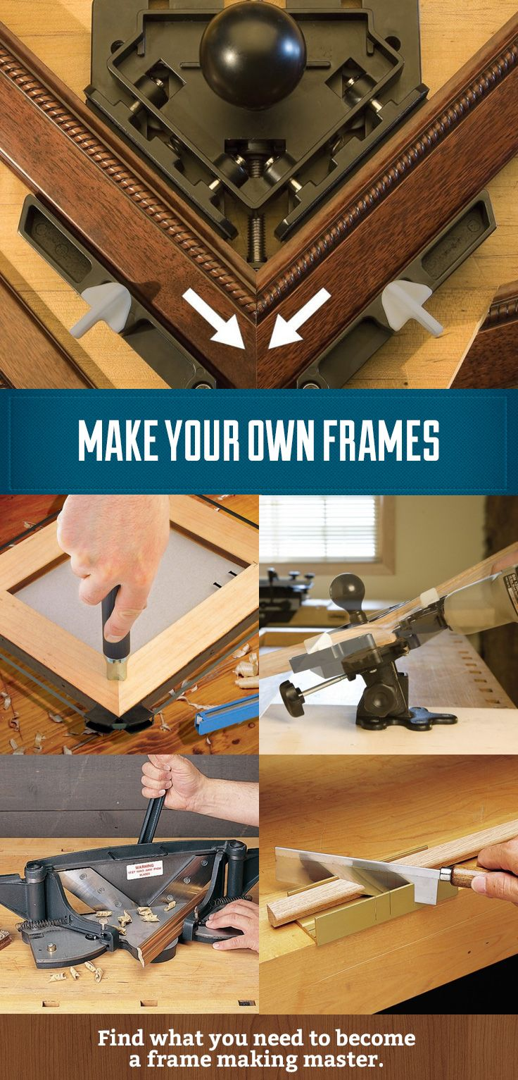 Ever wanted to make your own frames and save yourself the expense of high  end frames. Ever wanted to make your own frames and save yourself the expense