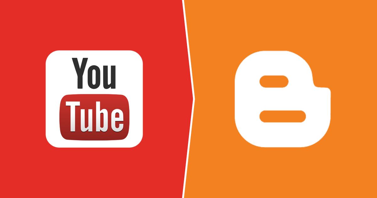 إظهار صورة فيديو يوتيوب في الصفحة الرئيسية دون اضافة صورة داخل التدوينة اقرأ للمزيد لمدونات بلوجر Youtube Blogger Gaming Logos