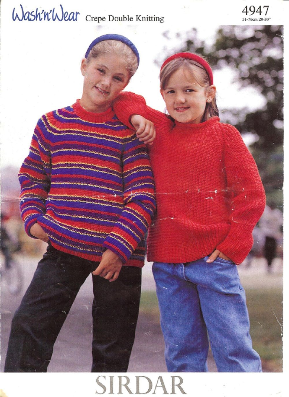 Sirdar knitting pattern 4947 dk childrens sweater child sirdar knitting pattern 4947 dk childrens sweater bankloansurffo Image collections