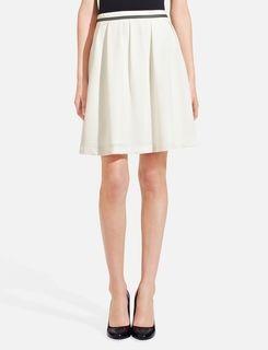 Swingy Crepe Skirt