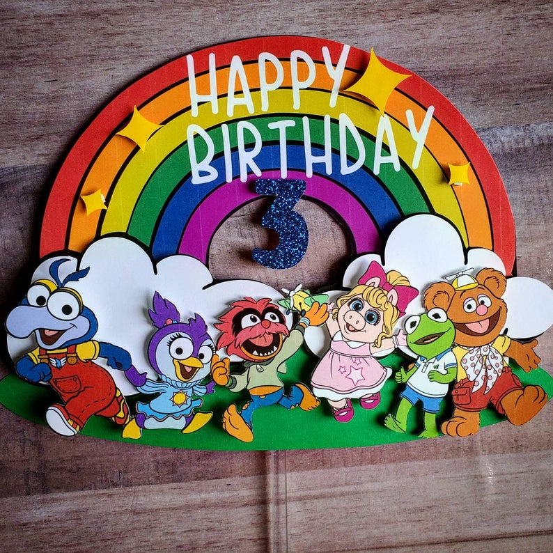 Pin on Muppet Baby Party