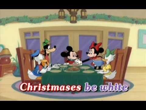 White Christmas Disney Very Merry Christmas Songs Youtube Elementary Music Christmas Christmas Music Activities Disney Very Merry Christmas