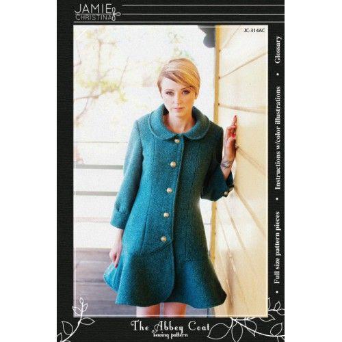 Schnittmuster: Abbey Coat | Nähideen | Pinterest | Nähideen