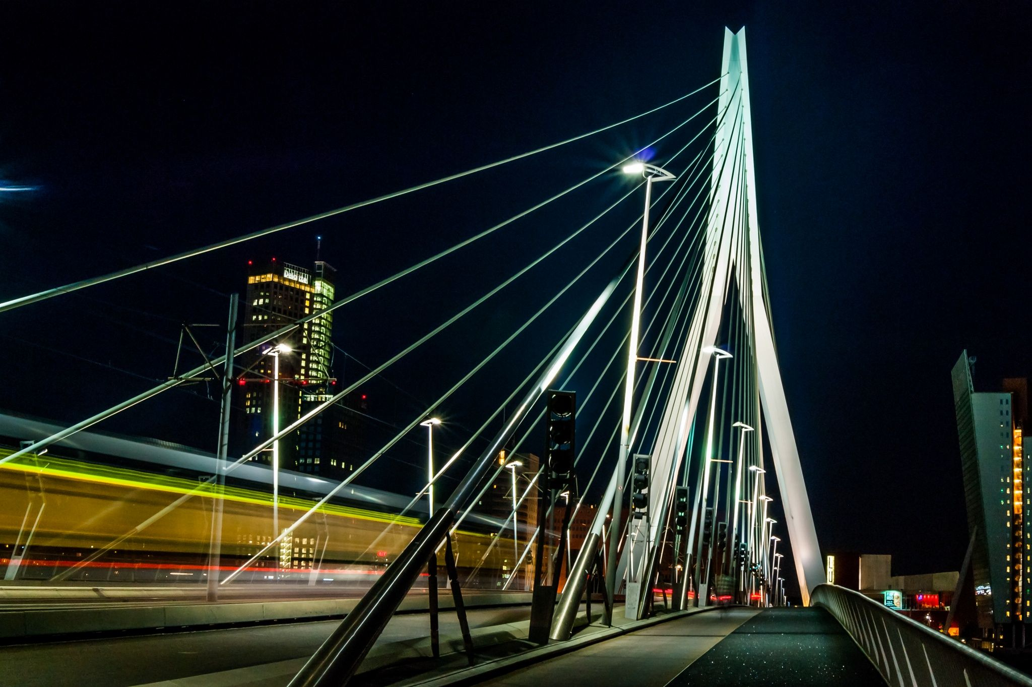 Erasmus Bridge by Andy Nobibux on 500px