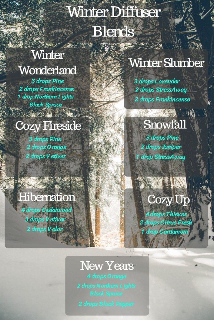 Winter Essential oil Diffuser blends – A Stray Kitchen