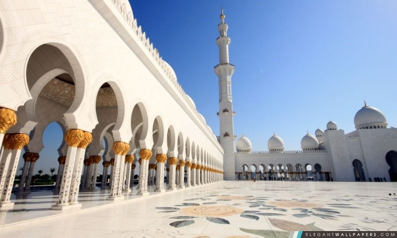 Mosquee Mosque Wallpaper Sheikh Zayed Grand Mosque Architecture Wallpapers
