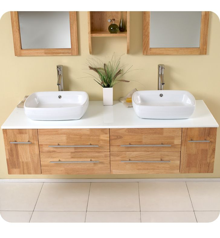 Love the jack and jill For the Home Pinterest - Vessel Sinks Bathroom
