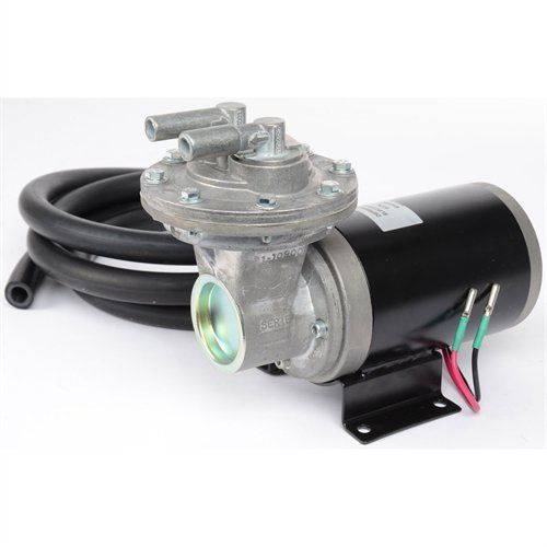 12 Volt Electric Vacuum Pump Kit 18 To 22 For Brake Booster Hg Includes 10 Amp Mini Blade Fuse Dc 84 Watt Relay
