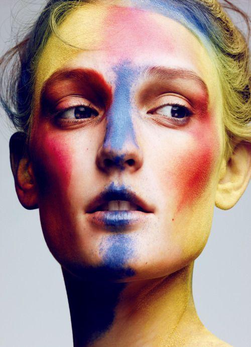 51 Creepy Makeup Make Up On Halloween This Year | Creepy