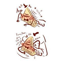 Triangle! Bill Cipher X Reader - Sensitive Sides :  | Bill cipher