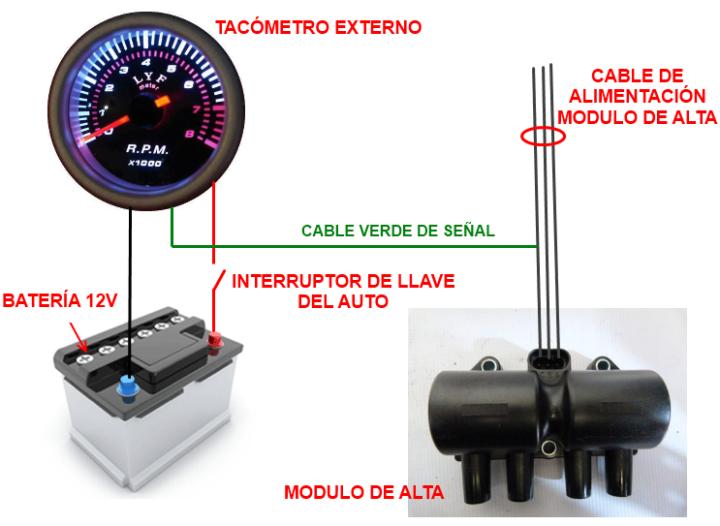 Como Instalar Un Tacometro En Tu Automovil Mecanico De Autos Mecanica Automotriz Alarmas Para Autos