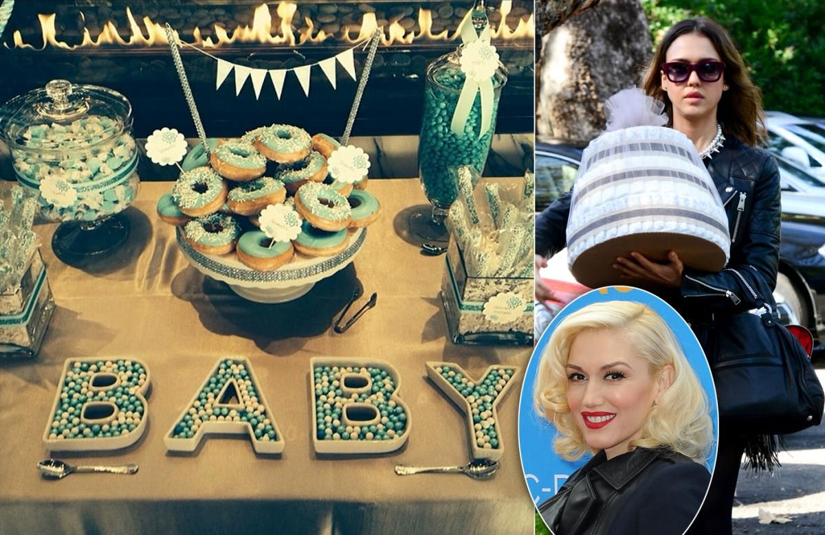 Gwen Stefani's baby shower - Photos - Celebrity baby showers - NY .