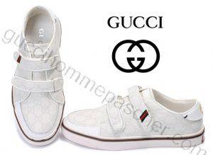 Chaussures Gucci Homme Pas Cher En Blanc Mon Cheri, Gucci Shoes Outlet,  White People 84234217970