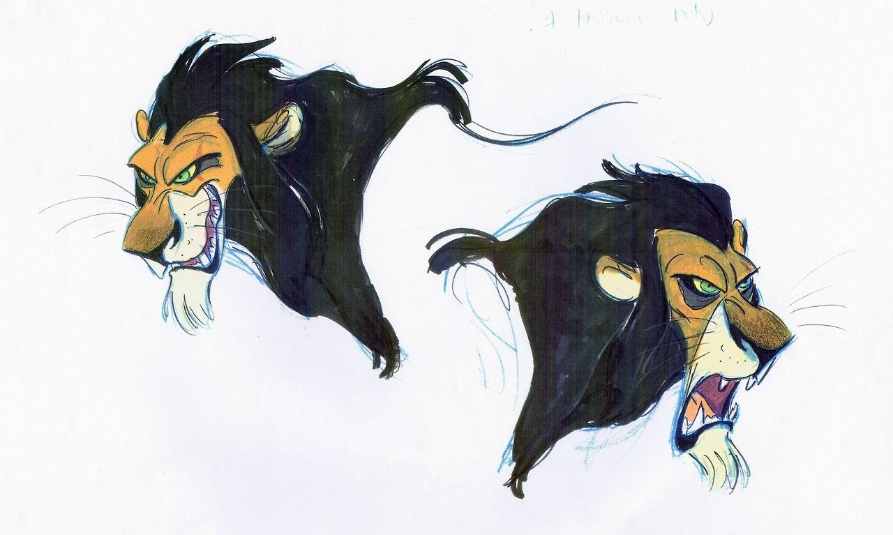 Scar Character Design Disney Concept Art Character Design