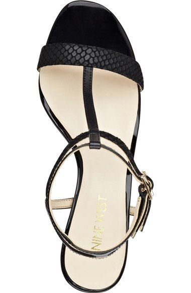 Free shipping and returns on Nine West 'Dacey' Ankle Strap Sandal (Women) at Nordstrom.com. Tiered ankle straps and an airy, minimalist aesthetic define a breezy sandal set on a low, stable heel.
