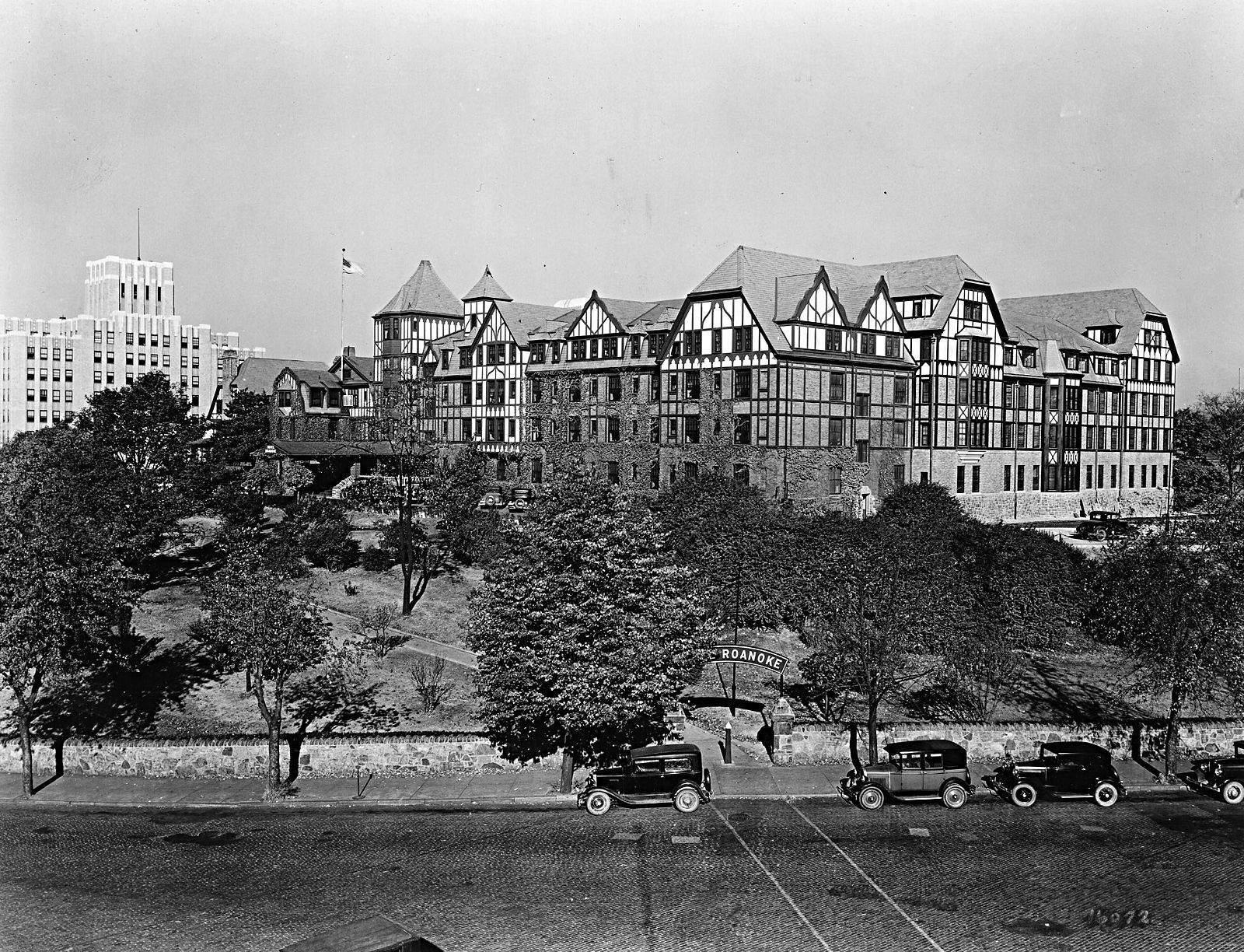 The Hotel Roanoke In The 1930s History In Virginia 39 S