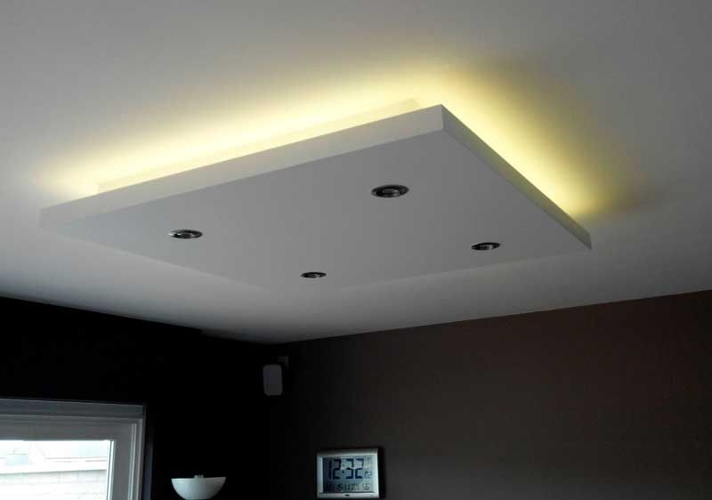 Photo Coffre Eclairage Salon Ceiling Lighting Preferred
