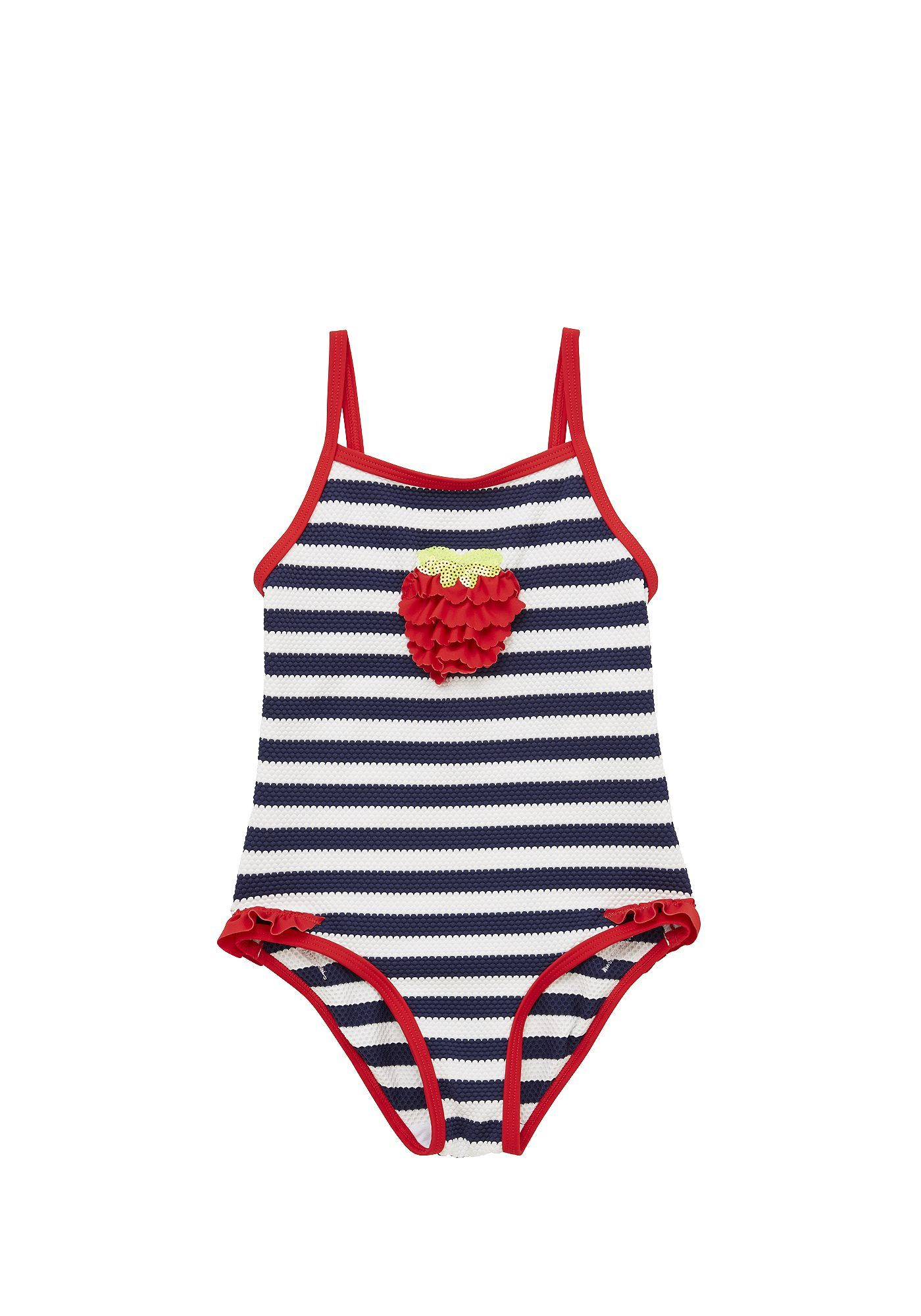38b84cdd0c Tesco direct: F&F Textured Stripe Swimsuit | Swimwear | Fashion ...
