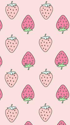 Strawberry Wallpaper Iphone Wallpaper Pattern Wallpaper Iphone