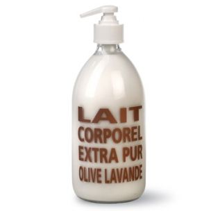Compagnie de Provence Lait Corporel Body Lotion - Olive & Lavender - With aloe and shea butter, olive and sweet almond oils, and vitamin E.
