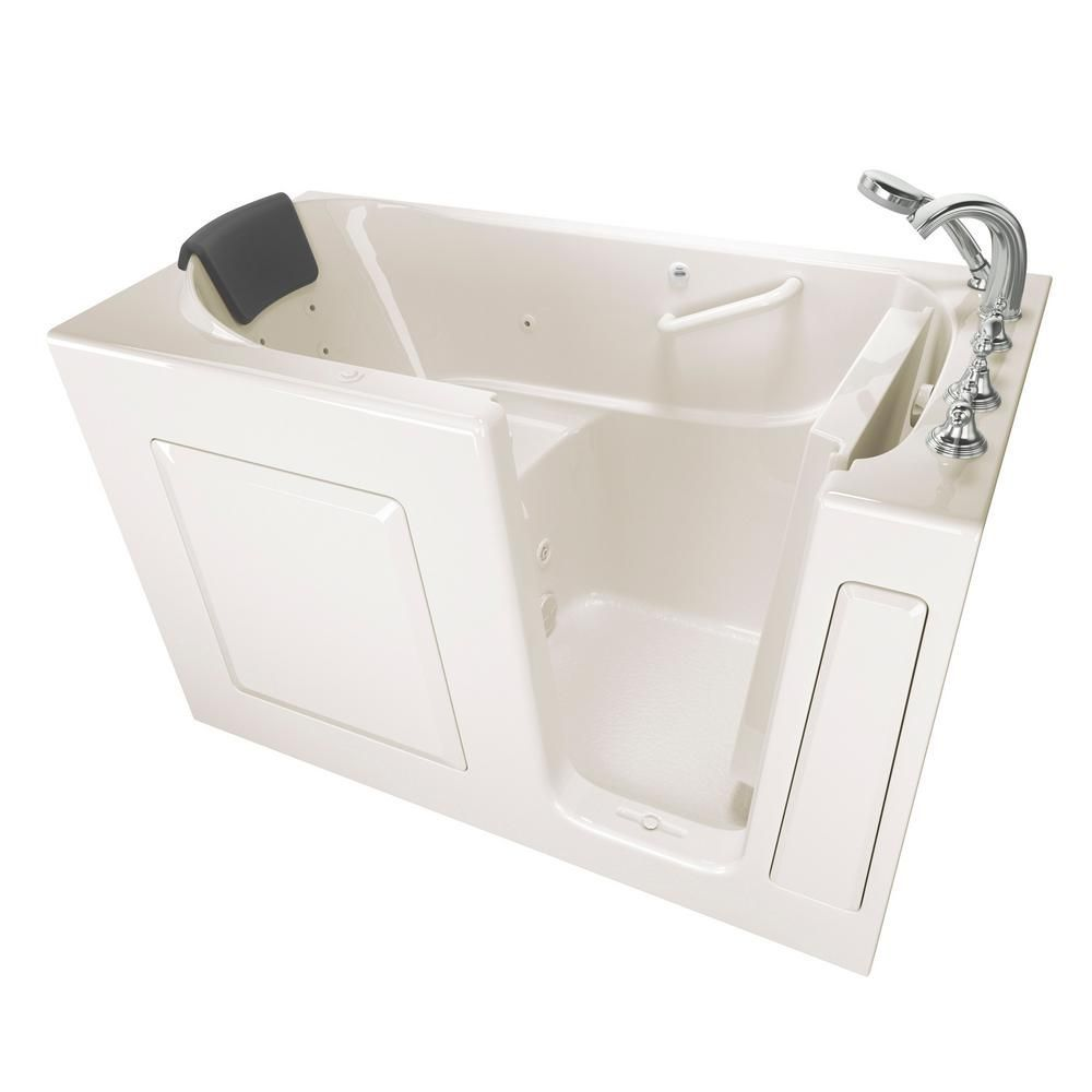 American Standard Gelcoat Premium Series 4.9 ft. Walk-In Whirlpool ...