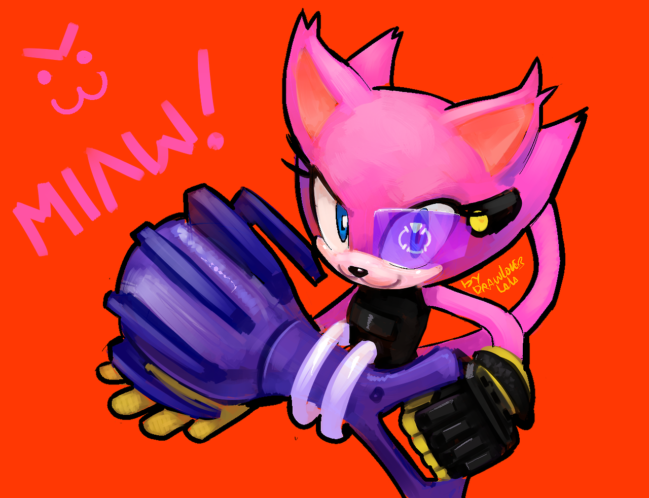 Sonic Forces Cat By Drawloverlala