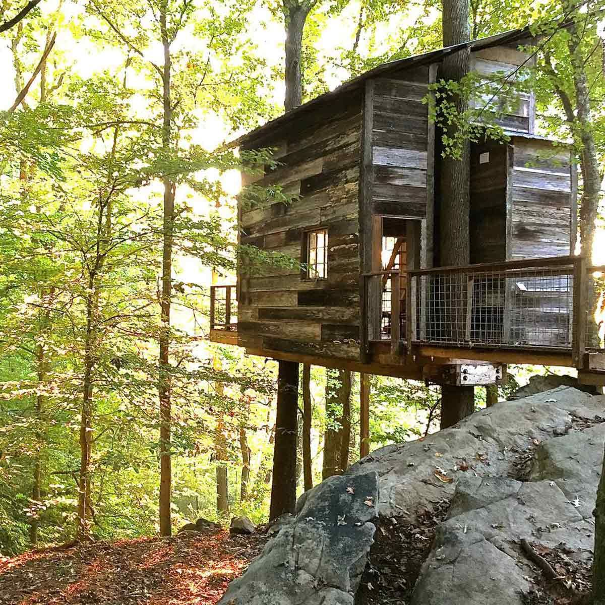 50 diy treehouses made from reclaimed materials forest