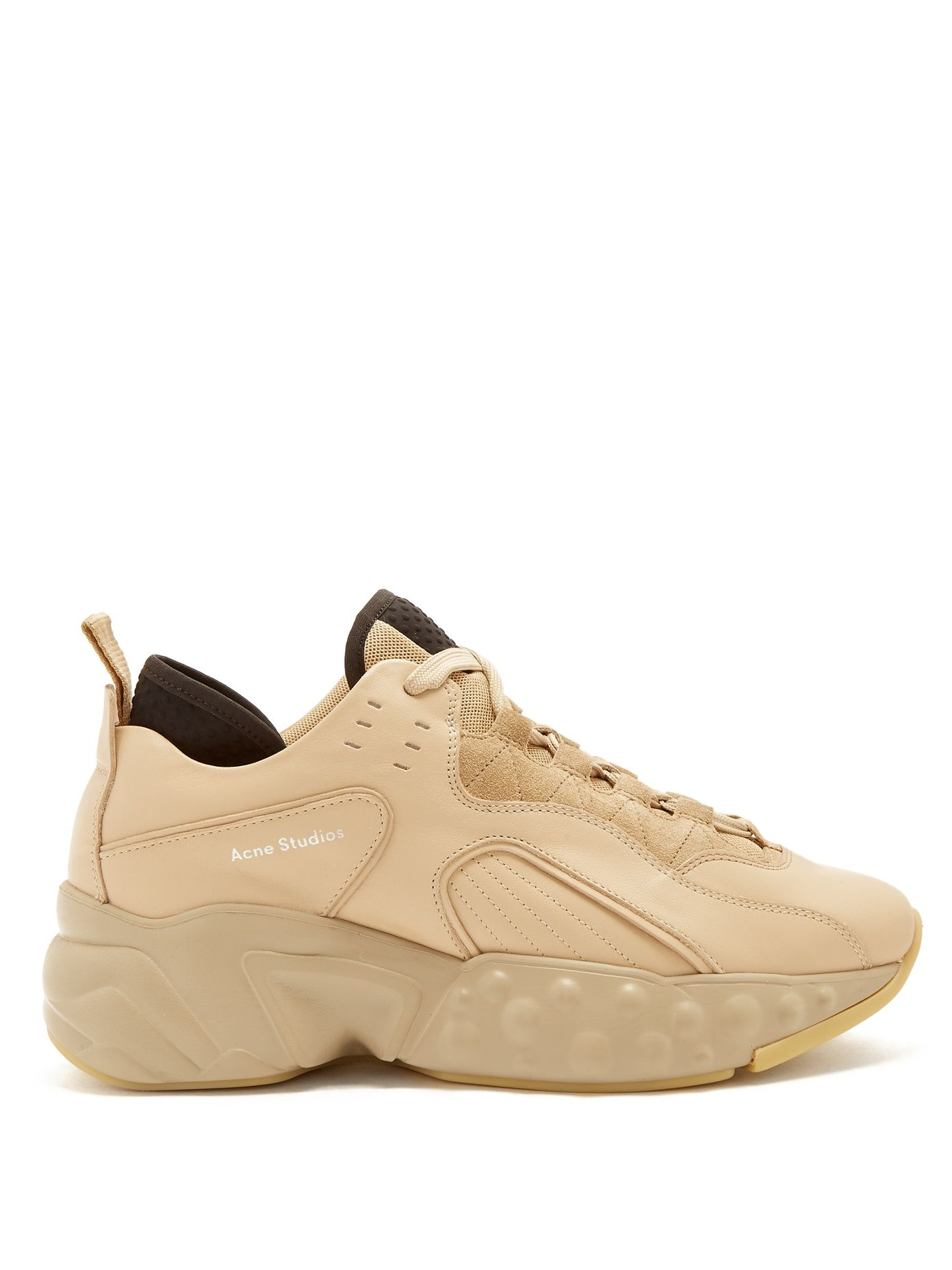 Pre-owned - Leather low trainers Acne Studios AQspZ3W