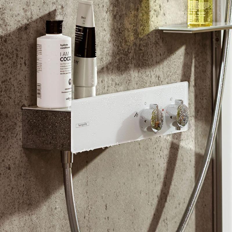 Hansgrohe ShowerTablet Das Brausethermostat verfügt über
