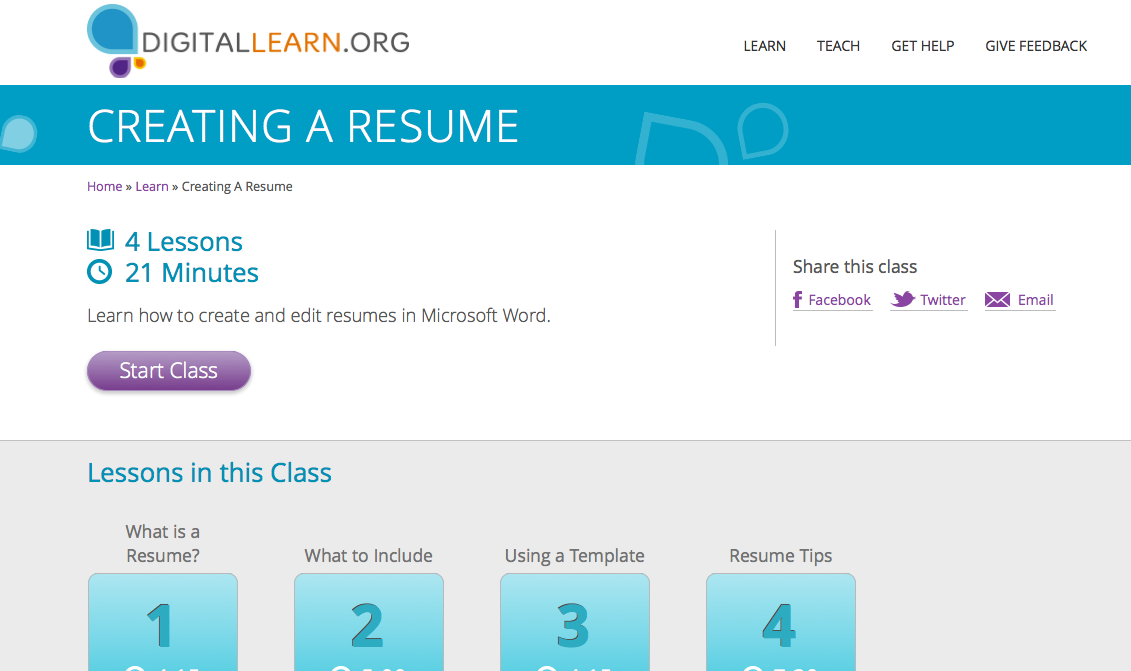 Creating A Resume Tips Digital Learn Create A Resume Resume