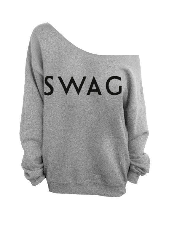 Sweater Swag Gray Slouchy Oversized Sweater by DentzDenim, $29.00