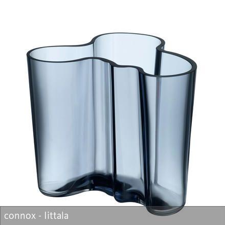 Iittala Aalto Vase Savoy 120 Mm Regenblau Iittala And Modern