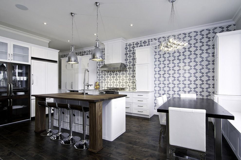 Idea by fluffy Panda on Random interiors Kitchen wallpaper