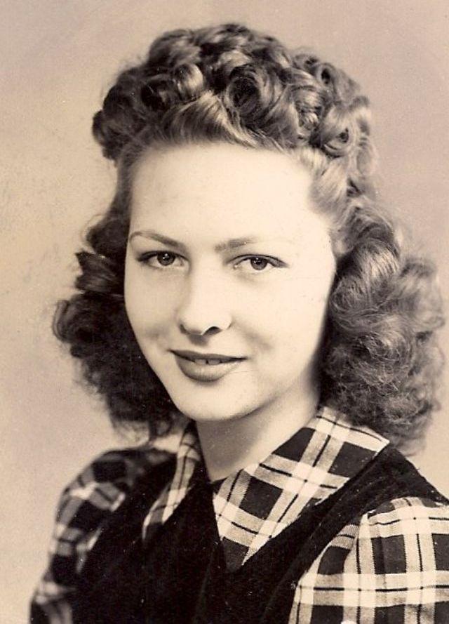 vintage everyday 1940s hairstyles