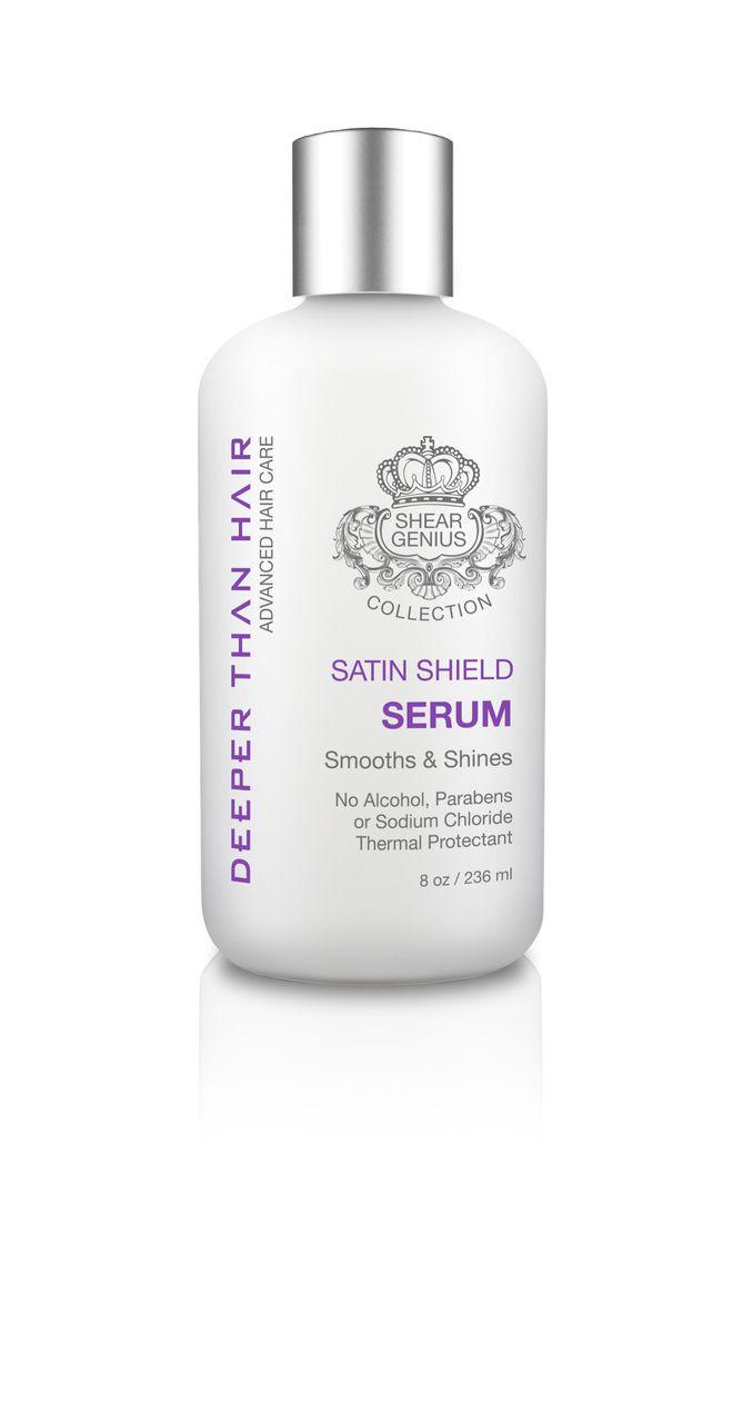 satin shield serum - deeper than hair | hair | pinterest | serum