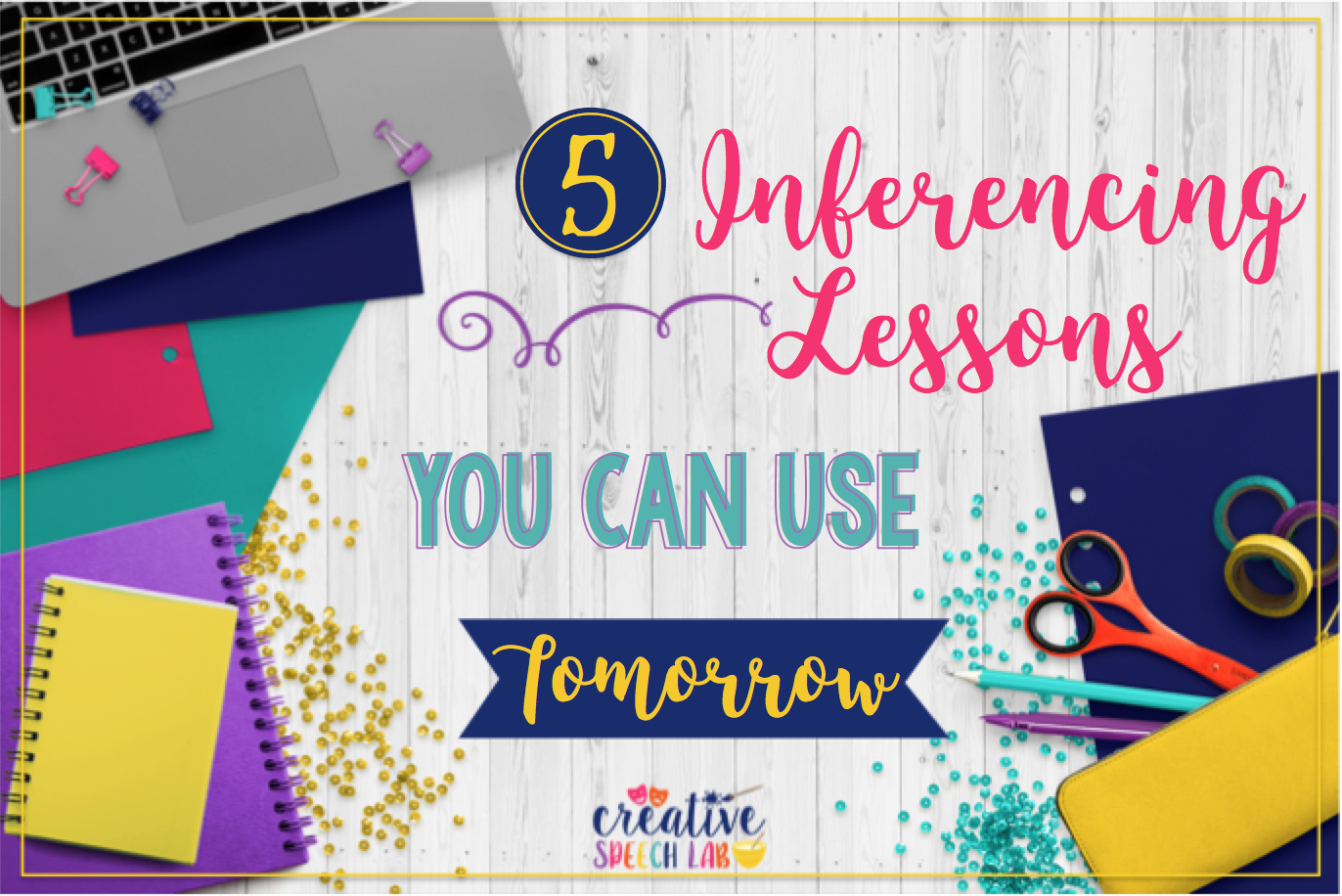 Ever find it difficult to provide your students with a good inferencing lesson? Personally, I've found that most of the materials in my therapy room are not challenging enough for my students…