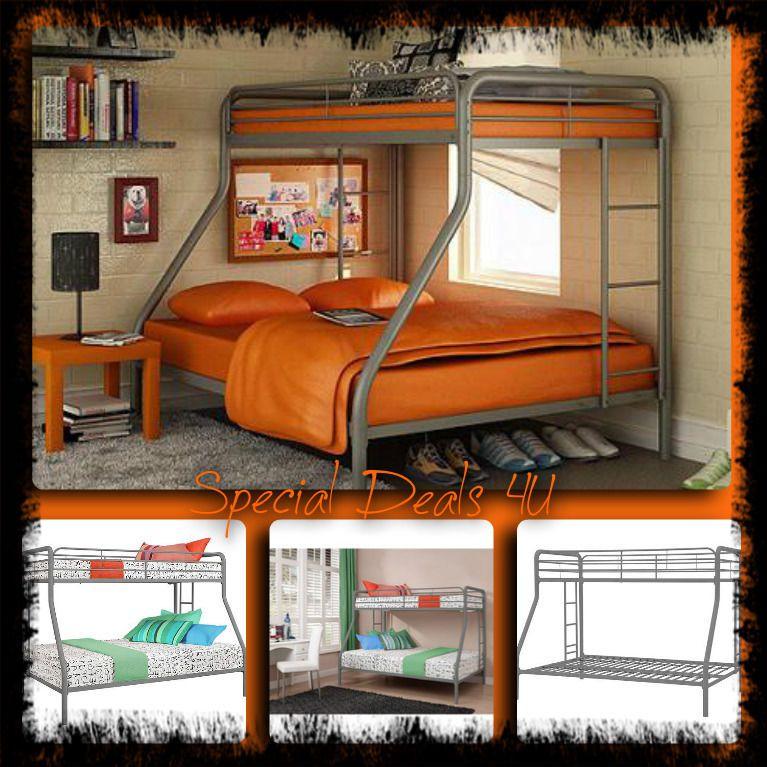Best Twin Over Full Bunk Beds Boys Girls Kids Bedroom Modern 640 x 480