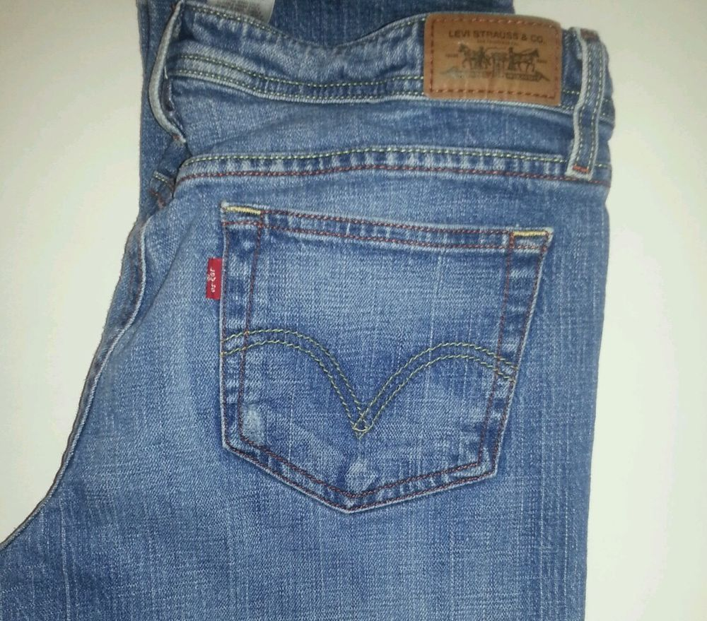 1863b3a2 Juniors Levi's superlow straight stretch 518 jeans size 13 M Cute Pockets  Womens #Levis #BootCut