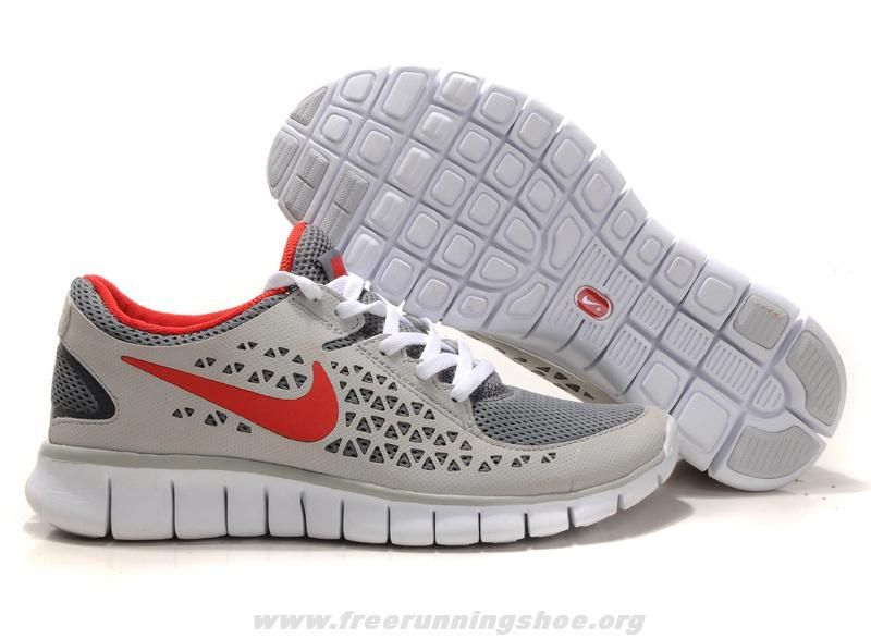 b1fb6ff25b582 ... authentic mens 395912 013 nike free run gray red white for wholesale  817d7 4f8ed