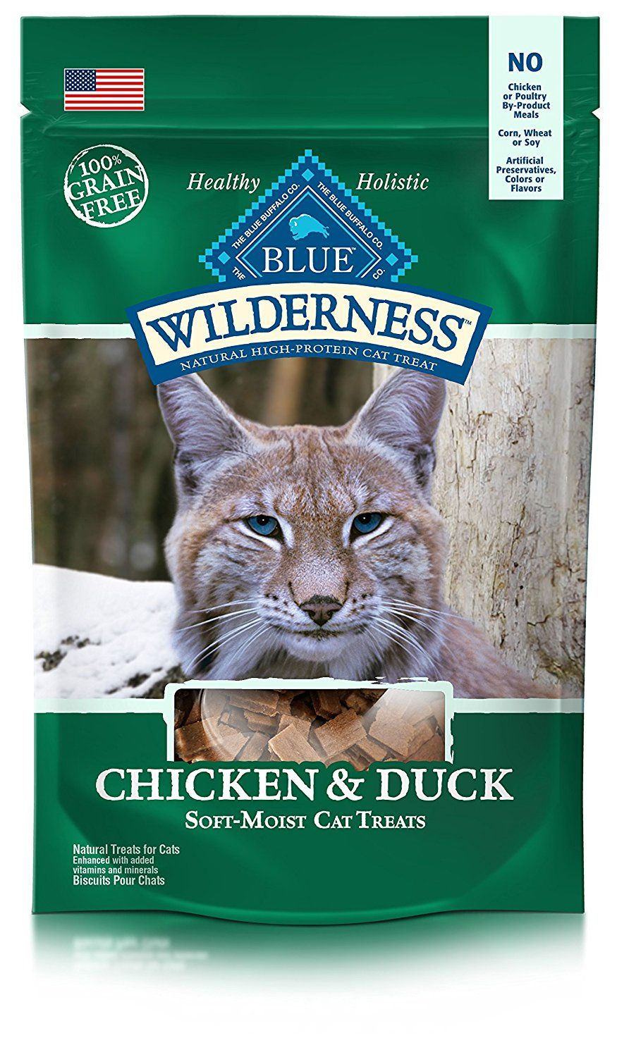 Blue Buffalo Wilderness Cat Treats Special Cat Product Just For