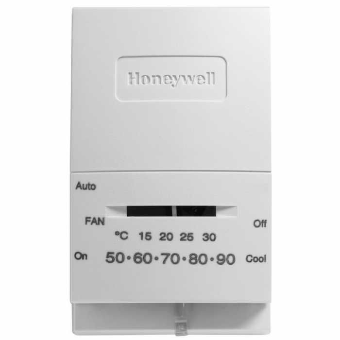 Honeywell T834l1004 T834 Series Mercury Free Non Programmable