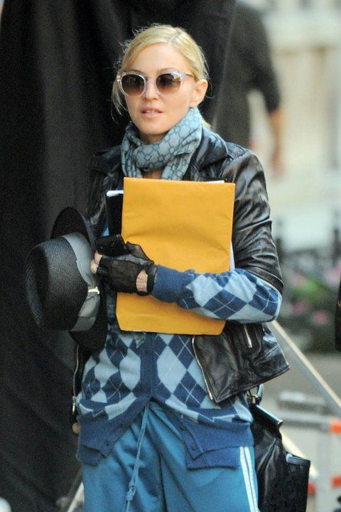 c703a04aeb Madonna is wearing the Thierry Lasry  LIVELY  in clear with gold temples