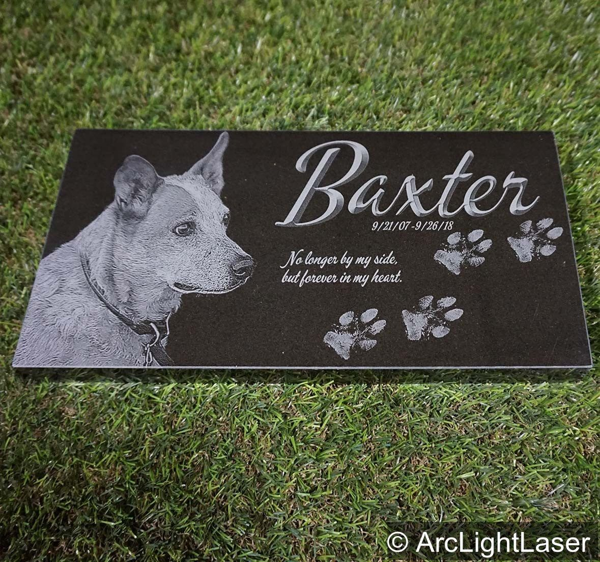 A Black Granite Pet Memorial Is A Beautiful Way To Remember Your