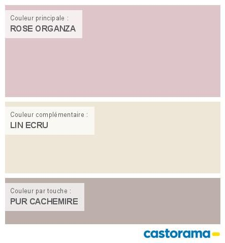 castorama nuancier peinture mon harmonie peinture rose organza satin velours de dulux. Black Bedroom Furniture Sets. Home Design Ideas