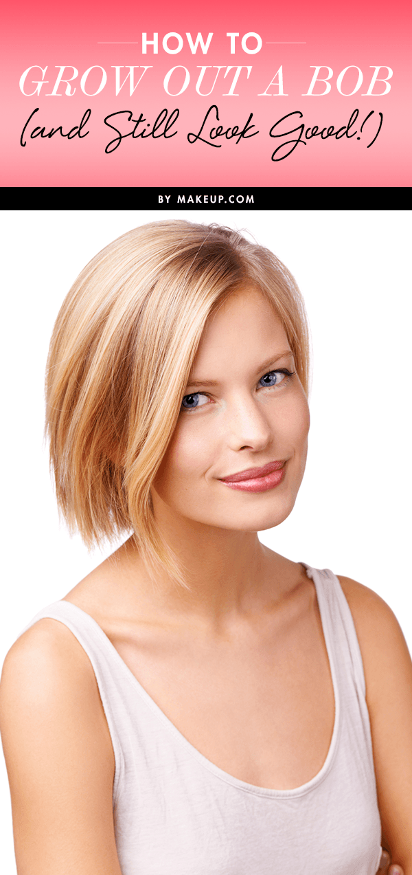 How To Grow Out A Bob Haircut Makeup Com Growing Out A Bob Medium Bob Haircut Growing Out Hair